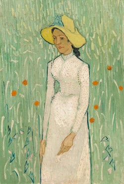 Vincent van Gogh, Girl in White, 1890