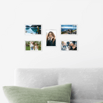 AcryliClears™ Clear Acrylic Glass Photo Tiles - 3x5