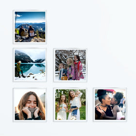 AcryliClears™ Clear Acrylic Glass Photo Tiles - 4x4