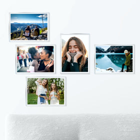 AcryliClears™ Clear Acrylic Glass Photo Tiles - 5x7