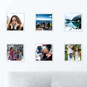 AcryliClears™ Clear Acrylic Glass Photo Tiles - 6x6