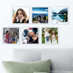 AcryliClears™ Clear Acrylic Glass Photo Tiles - 8x8