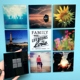 AcryliPics™ 5x5 Square Custom Acrylic Photo Tiles