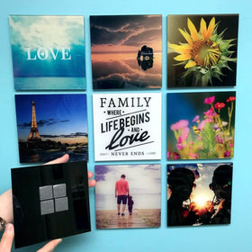 AcryliPics™ 6x6 Square Custom Acrylic Photo Tiles