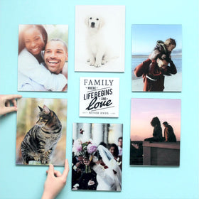 AcryliPics™ 8x10 Vertical or Horizontal Custom Acrylic Photo Tiles