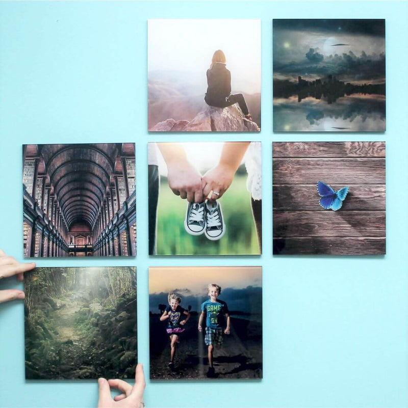 AcryliPics™ 8x8 Acrylic Prints Photo Tiles