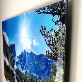 AcryliPics™ Large Acrylic Photo Tiles with Sawtooth Hanger 12x12