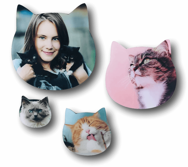 AcryliPics™ Cat Acrylic Prints Photo Tiles