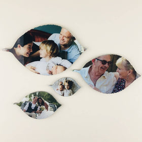 AcryliPics™ Leaf Acrylic Photo Tiles