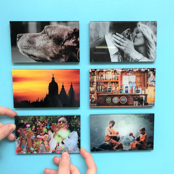 AcryliPic Standouts™ 3x5 Custom Gallery-Style Acrylic Photo Tiles