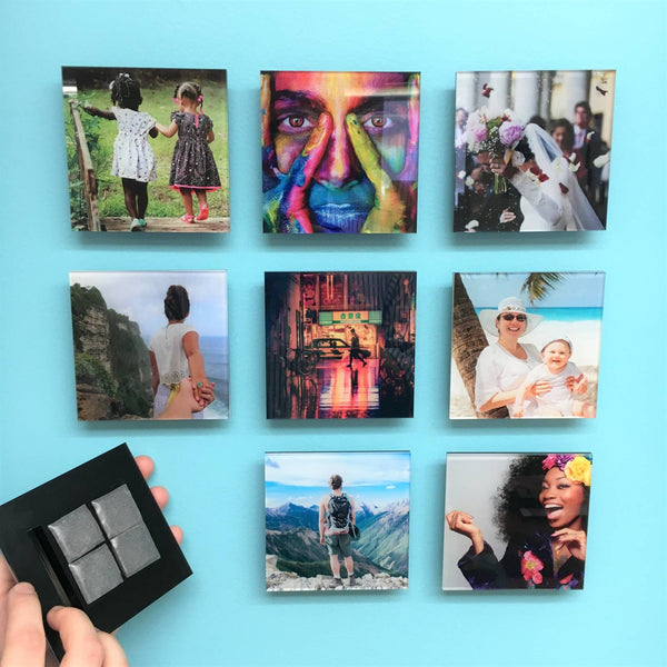 AcryliPic Standouts™ 4x4 Custom Gallery-Style Acrylic Photo Tiles