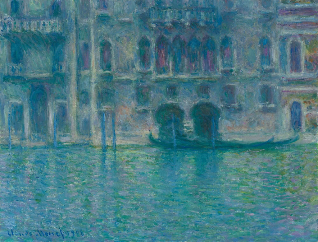 Photo Tiles, Acrylic Prints, Photo Wall Tiles, Wall Art, Wall Decor, Home Decor, Photo Prints, Claude Monet, Palazzo da Mula, Venice, 1908 - PicFoams.com