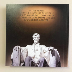 Photo Tiles, Acrylic Prints, Photo Wall Tiles, Wall Art, Wall Decor, Home Decor, Photo Prints, Abraham Lincoln Memorial - PicFoams.com