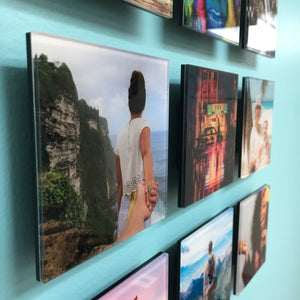 Photo Tiles, Acrylic Prints, Photo Wall Tiles, Wall Art, Wall Decor, Home Decor, Photo Prints, AcryliPic Standouts™ Small Custom Gallery-Style Acrylic Photo Tiles (4x4, 3x5) - PicFoams.com