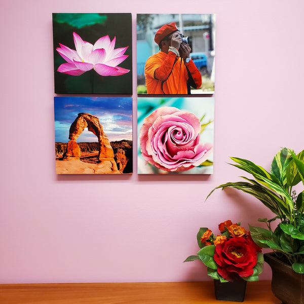 Photo Tiles, Acrylic Prints, Photo Wall Tiles, Wall Art, Wall Decor, Home Decor, Photo Prints, 8x8 PicFoams™ Square Photo Tiles - PicFoams.com
