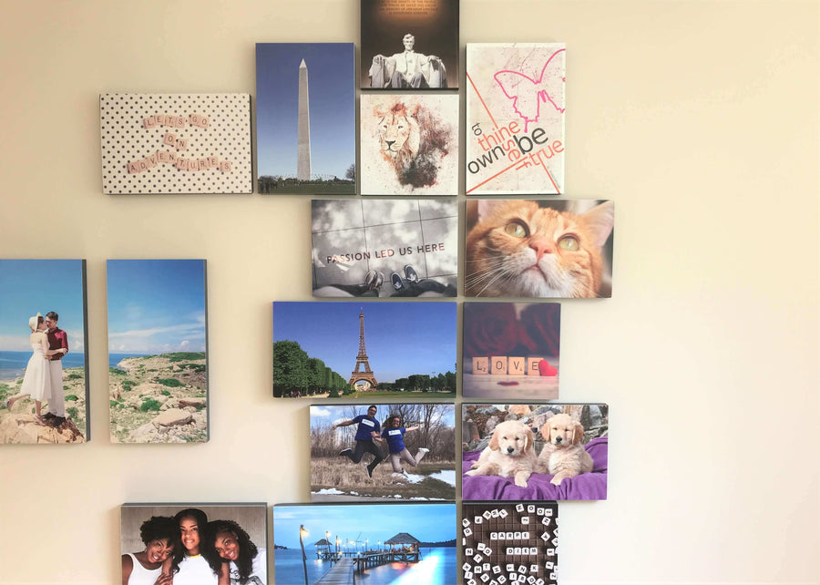 Photo Tiles, Acrylic Prints, Photo Wall Tiles, Wall Art, Wall Decor, Home Decor, Photo Prints, Never Stop Dreaming - PicFoams.com