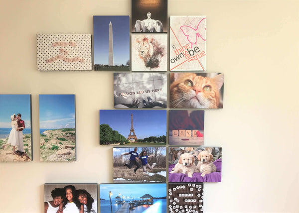 Photo Tiles, Acrylic Prints, Photo Wall Tiles, Wall Art, Wall Decor, Home Decor, Photo Prints, Carpe Dieme - Scrabble - PicFoams.com