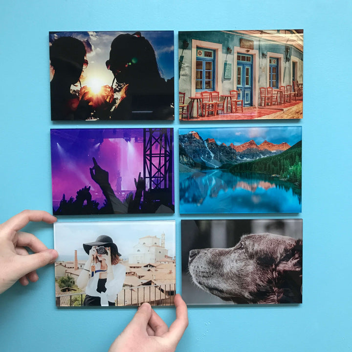 Photo Tiles, Acrylic Prints, Photo Wall Tiles, Wall Art, Wall Decor, Home Decor, Photo Prints, AcryliPic Standouts™ Medium Custom Gallery-Style Acrylic Photo Tiles (6x6, 5x7) - PicFoams.com