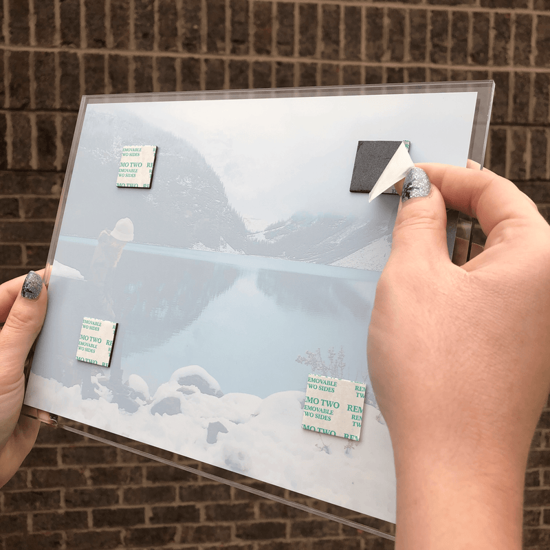 AcryliClears™ Clear Acrylic Glass Photo Tiles - 5x5