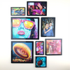 3x5 AcryliFrames™ Photo Tiles - Black