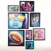 6x6 AcryliFrames™ Photo Tiles - Black