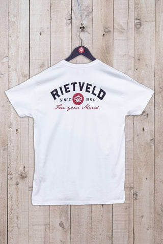 Free Your Mind Short Sleeve Tee White