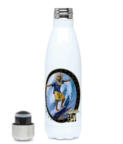 """Surfing Al"" Water Bottle"