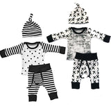 3Pcs Newborn Outfit Set