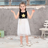 Baby Girls Sequins Dress Star