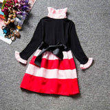 Girl's Long Sleeve Princess Dress