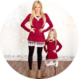 Mommy And Me Fashion Dresses