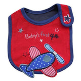Baby Bibs Cute Cartoon Pattern