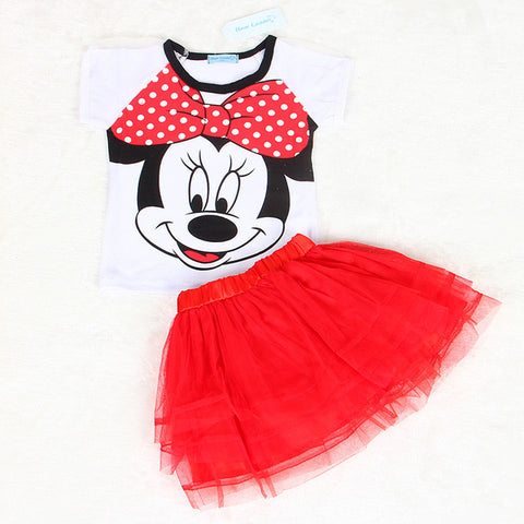 2 Piece Toddler Girl's Fashion Outfit
