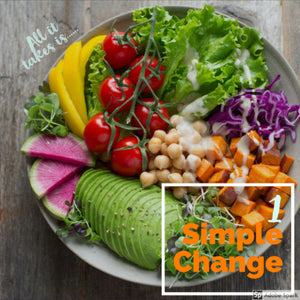 1SimpleChange Monthly Meal Plan Service