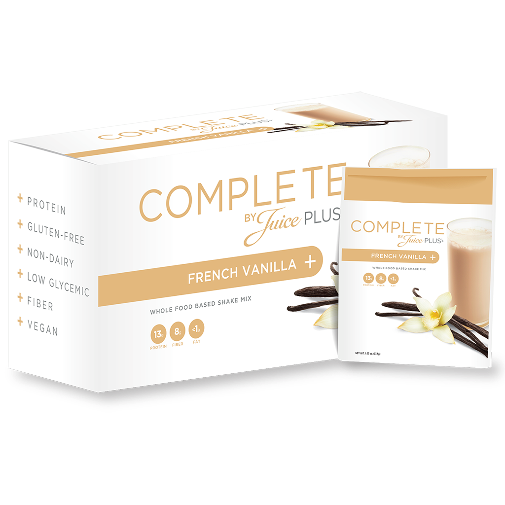 JUICE PLUS+® COMPLETE FRENCH VANILLA(Bulk )
