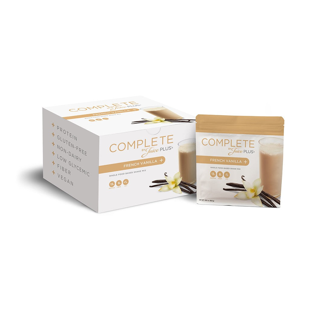 JUICE PLUS+® COMPLETE FRENCH VANILLA(Single Serve )