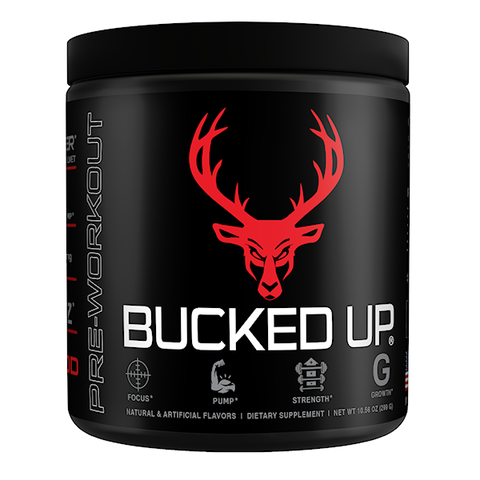 Bucked Up Racked, Blood Raz, 30 Servings (10.55 oz)