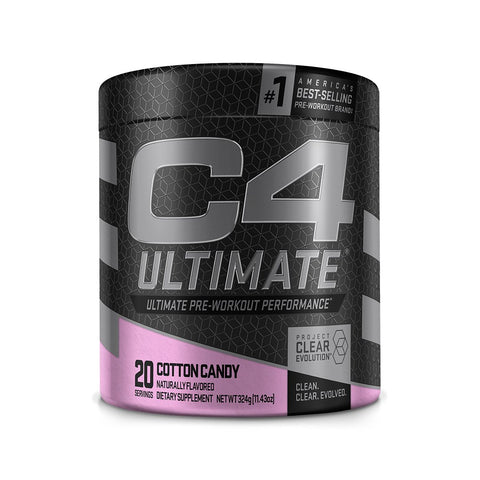 Cellucor C4 Ultimate, Cotton Candy, 20 Servings