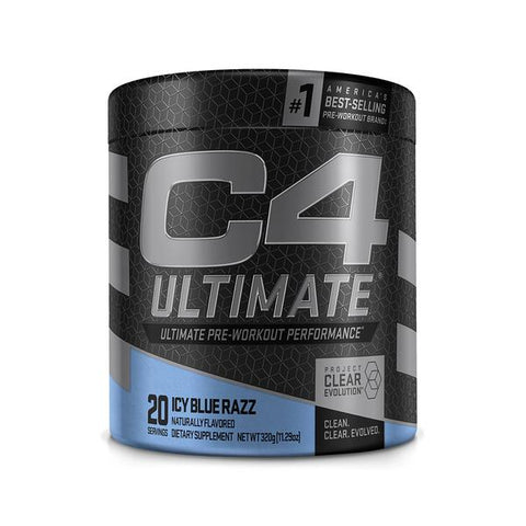 Cellucor C4 Ultimate, Icy Blue Razz, 20 Servings