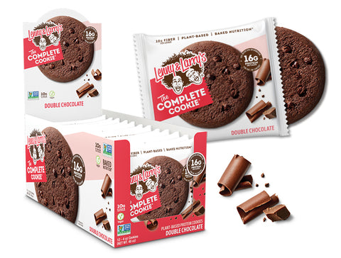 Lenny & Larry's The Complete Cookie, Double Chocolate, 12 per Box - 4 Oz (113 g)