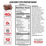 Lean Body Protein Drink: Cookies and Cream