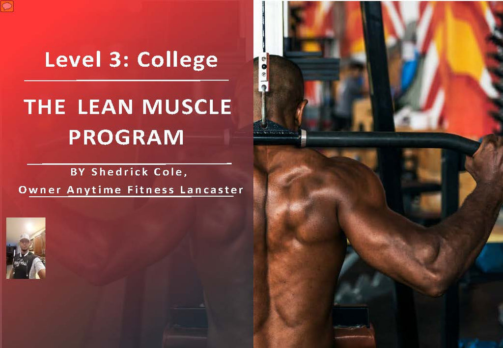 1SimpleChange: Level 3, College : Lean Muscle