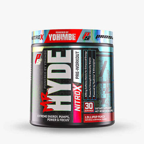 Pro Supps Mr. Hyde Nitro X, Lollipop Punch, 30 Servings
