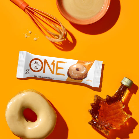 ISS Research One Bar, Maple Glazed Doughnut, 12 ( 2.12 OZ) Bars