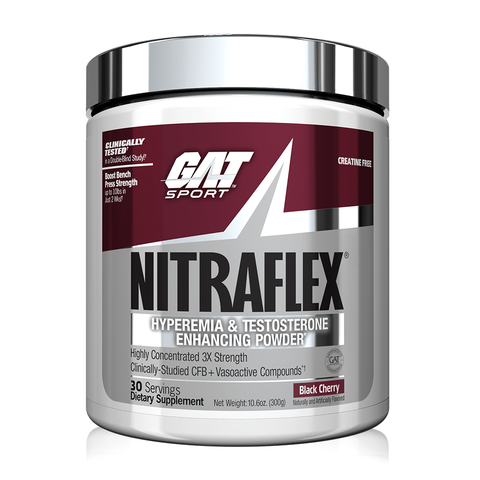 GAT Nitraflex, Black Cherry, 30 Servings (300g)