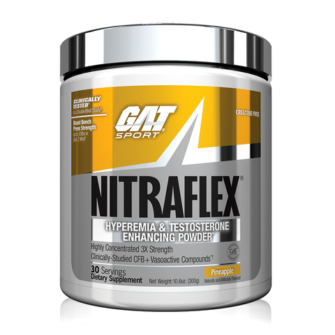 GAT Nitraflex, Pineapple, 30 Servings (300g)