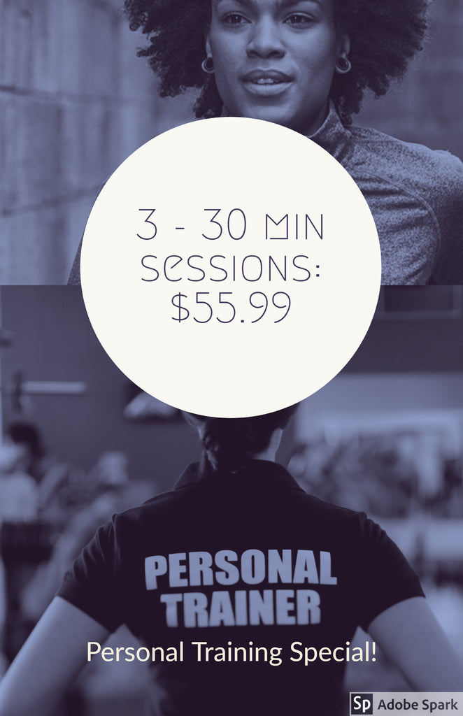 3 Personal Training Sessions