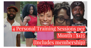 4 - 30 Minute Personal Training Session