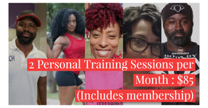 2 - 30 Minute Personal Training Session