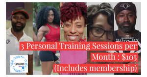 3 - 30 minute Personal Training Sessions